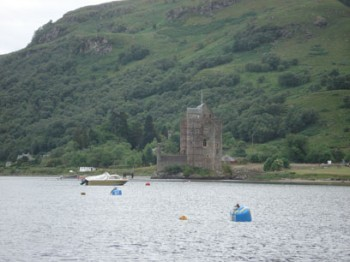Carrick Castle, Loch Goil, now has Two 15 tonne Deep Water Visitors Moorings.