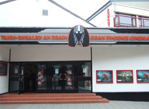 Oban Cinema now well and truly open.