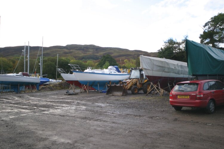 Boat Yard Winter Storagefor sale The Boatyard - Extensive storage space in the sheltered boatyard.