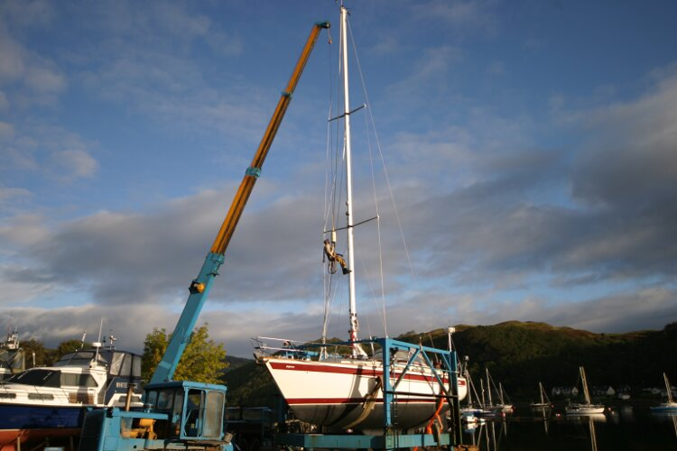 Boat Yard Winter Storagefor sale Mast Work - Carried out by the expert staff