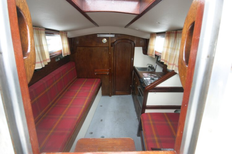 Morgan Giles for sale The saloon - As seen from the main companionway