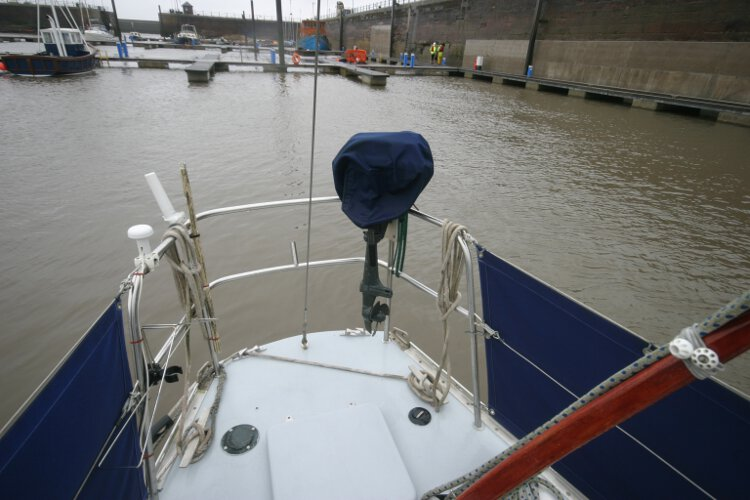 Morgan Giles for sale Stern deck -