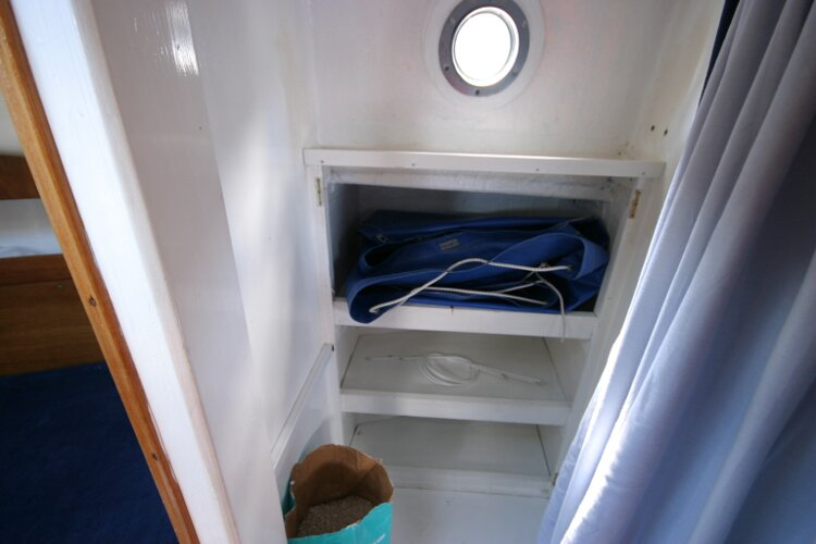 Colvic Springtide 25for sale Hanging locker - with shelves to rear