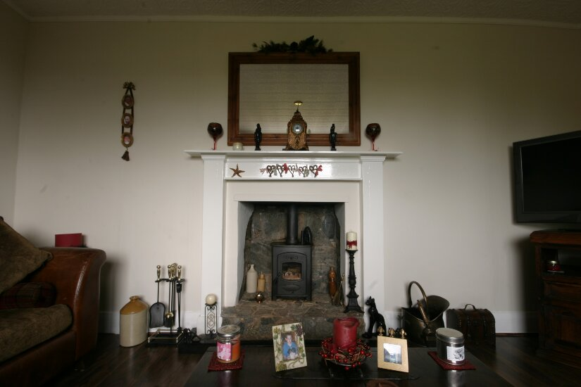 Western Isles Property -  House on the Isle of Lewisfor sale Lounge - fireplace -
