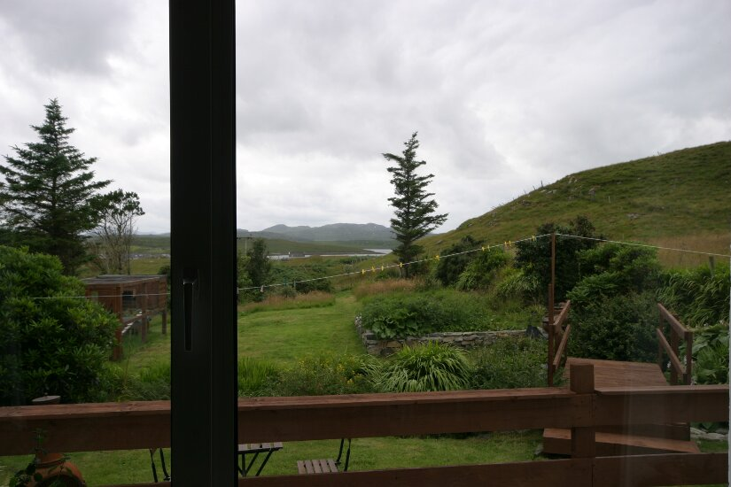 Western Isles Property -  House on the Isle of Lewisfor sale View from lounge window -