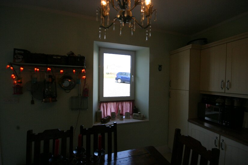 Western Isles Property -  House on the Isle of Lewisfor sale Window into Dining Area -