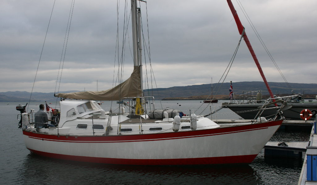 Vancouver 32for sale Afloat - Owners photo