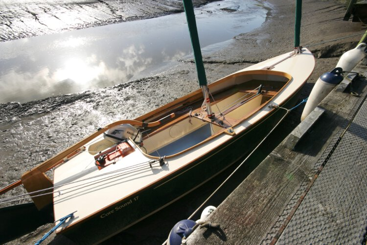 Wooden Classic Core Sound 17for sale Dried out alongside - She is ideal for exploring creeks and estuaries.