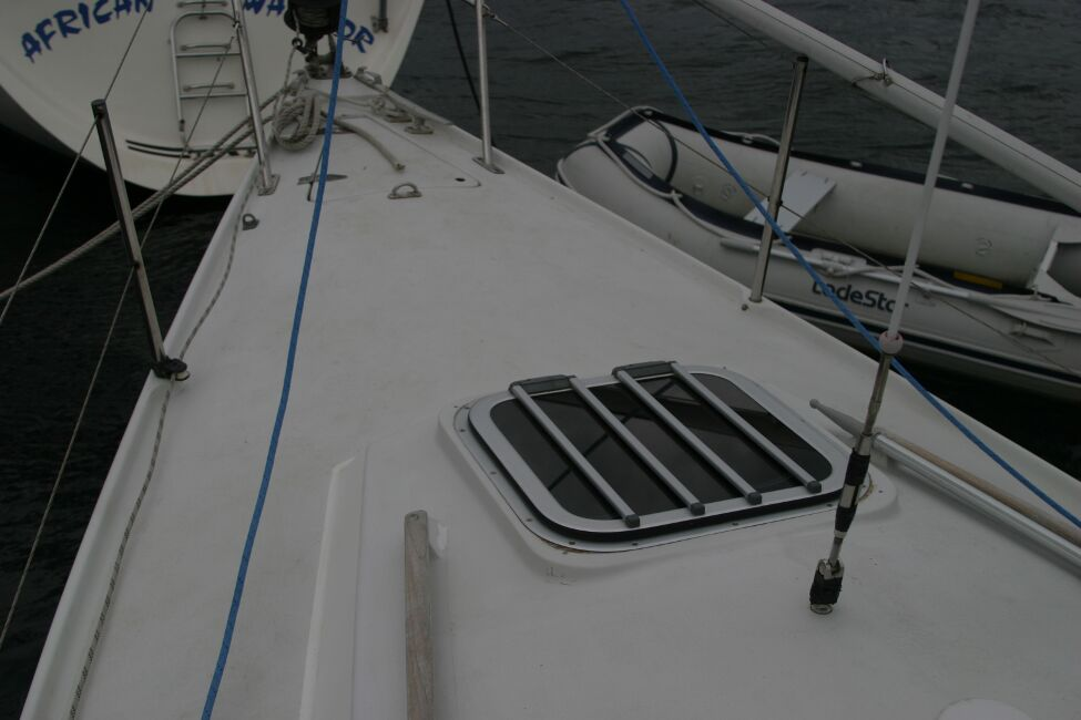 Sadler 29for sale Forehatch and Foredeck -