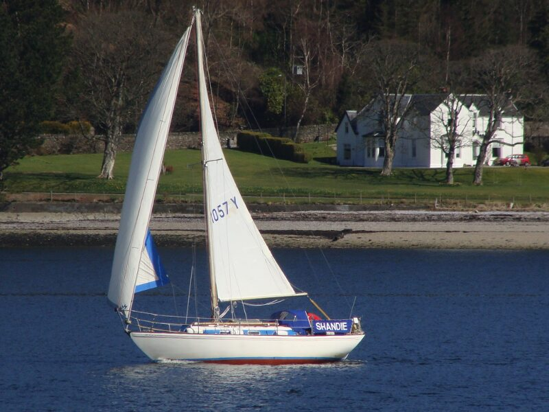 Twister 28for sale Siling on the Clyde - Owner's photo