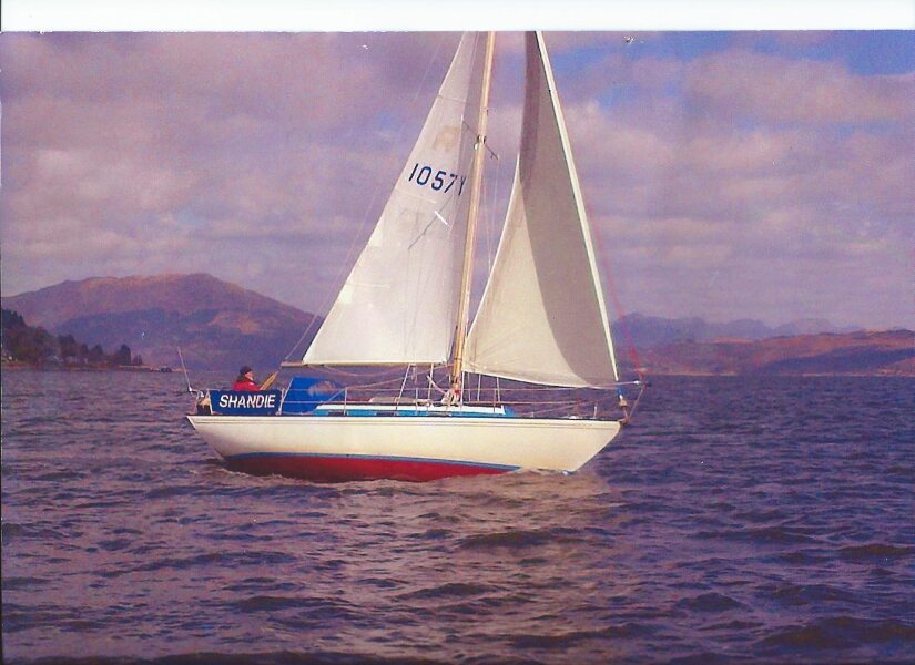 Twister 28for sale Sailing on the Clyde - Owner's photo