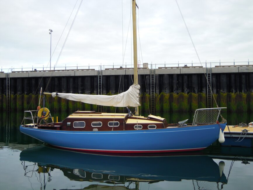 Wooden Classic 29 foot Bermudan Sloopfor sale Starboard Side - Owner's photo