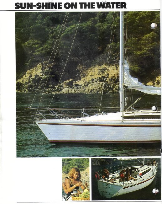 Jeanneau SunShine Regatta 38for sale Manufacturer's Brochure - Page 4