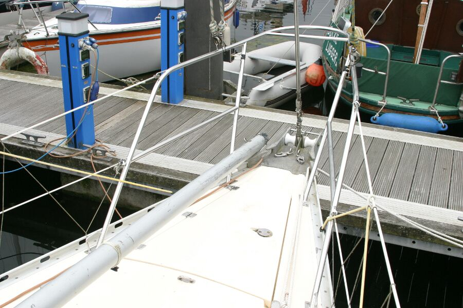 Jeanneau SunShine Regatta 38for sale Pulpit -