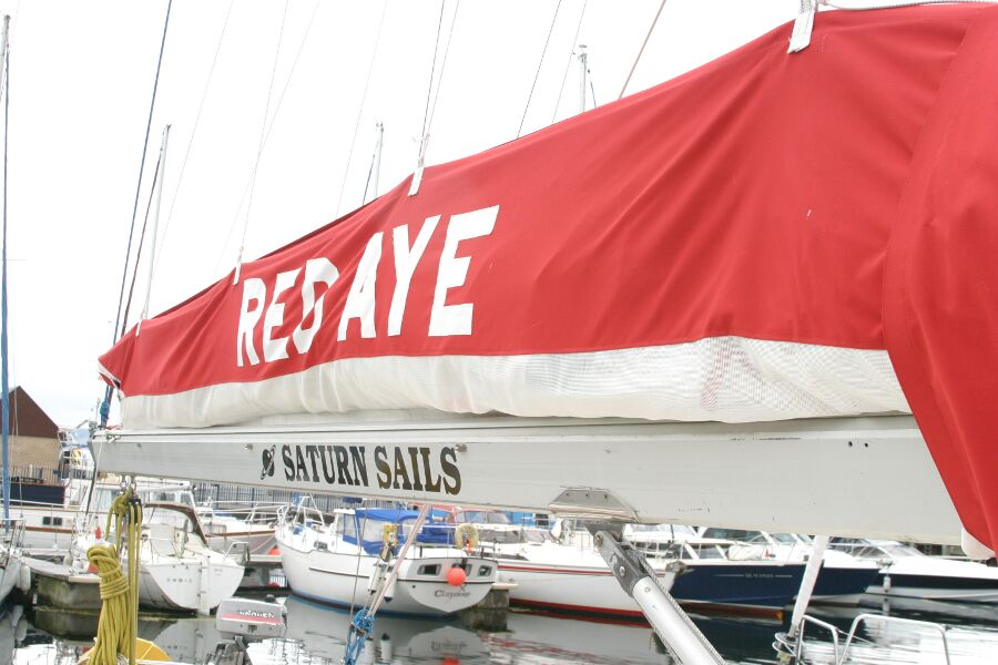 Jeanneau SunShine Regatta 38for sale Boom and Stack Pack -