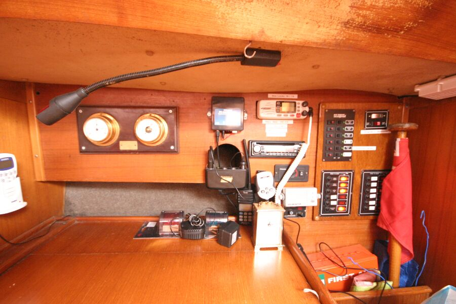 Jeanneau SunShine Regatta 38for sale Navigation station - Close up