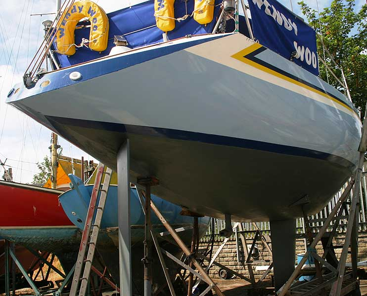 Bolero 35for sale As seen fromthe starboard quarter - 