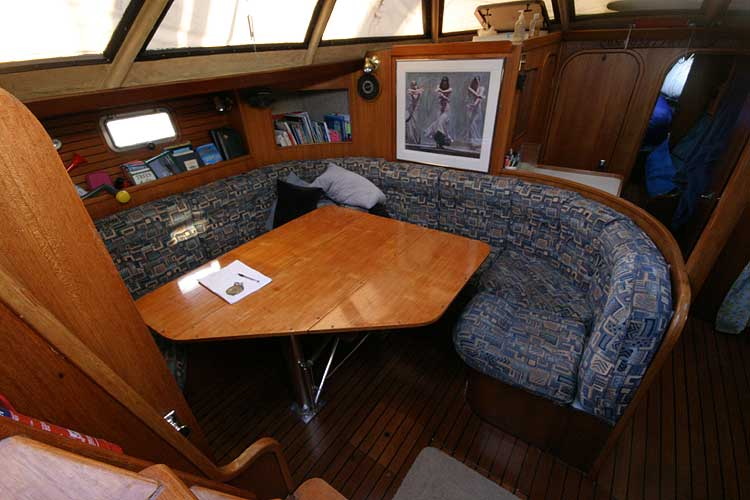 Jeanneau Trinidad 48 Ketchfor sale View to port through the companionway -