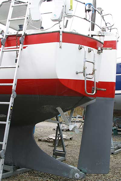 Vancouver 32for sale Rudder and prop -