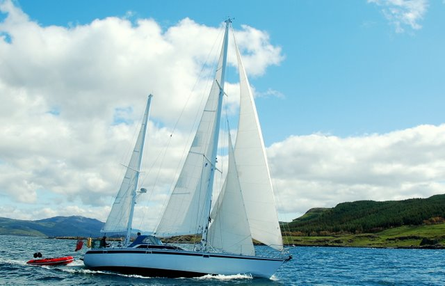 Jeanneau Trinidad 48 Ketchfor sale Owners Photo Summer 2011 -