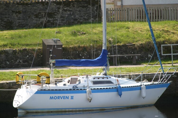 Colvic UFO 27for sale Berthed -
