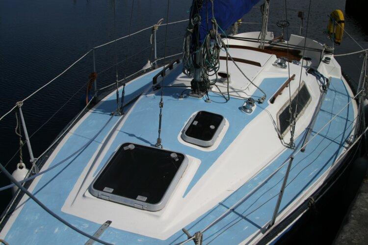 Colvic UFO 27for sale Looking Back Over the Deck -