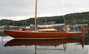 Wooden Classic 23ft Day Sailer for sale