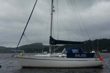 Moody 346 Fin Keel for sale
