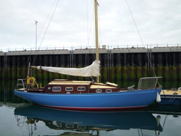 Wooden Classic 29 foot Bermudan Sloop for sale