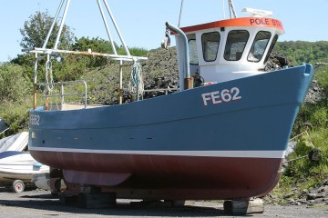 Commercial IP27 GRP Creel Boat for sale