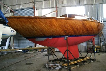 Wooden Classic Alan Buchanan Designed yacht for sale